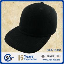 perfect baseball cap, quality pure wool felt hat