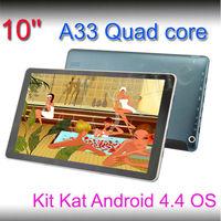Bulk wholesale newest allwinner boxchip Quad Core A33 10inch pc tablet