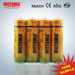 shenzhen R6 1.5v aa size battery