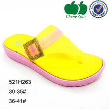 outdoor eva flat female injection low price slipper sandal