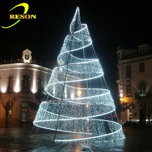 illuminazione natale per esterni: luci a led illuminazione per ... - Illuminazione Alberi Natale