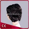 produto atacado meia peruca de cabelo humano para amerian mercado
