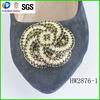 Renqing rhinestone decorative flat shoe buckle jewelry
