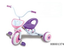 Child Baby Tricycle With Basketball