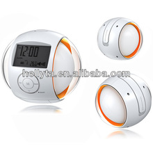 Desk calendar with natural sound digital alarm clock