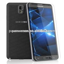 9H/oil resistant /anti-fingerprint/premium screen protector for Samsung -No shinning edges