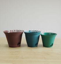 Cheap Flower Pots Outdoor Wall Planters / Hydroponic Flower Pot Ceramic Look/ Antique Ceramic Look Flower Pots