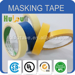 brown crepe masking paper tape for spray covering