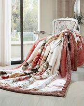Blanket factory 100% polyester custom made cheap super soft polar fleece blanket