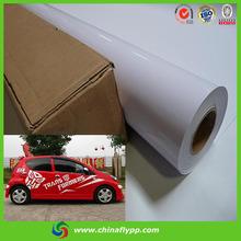 new products 2014 car plastic accessory vinyl film, advertising digital printing materials