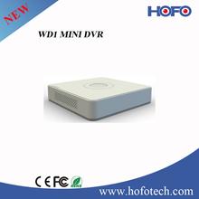 Standalone 960H Mini DVR WD1 resolution recording 16-ch OEM Hikvision DVR