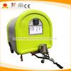 Mobile hot dog carts, crepe veding van, donut street food concession trailer