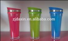 Hot Sale Plastic DIY Travel Coffee Mug, Plastic Mug, heat sensitive color changing mugs