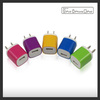 EU/US Plug USB Power Home Wall Charger Adapter for iPod for iPhone 3GS 4G 4S 5