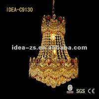 modern best multi color crystal chandelier