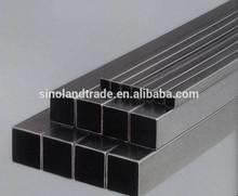 aluminium square pipes for furniture