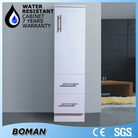tall slim storage l shaped pvc bathroom vanity