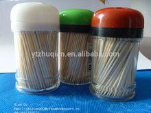 CE/EU FDA LFGB disposable paper opp wrapped natural bamboo toothpicks in bulk