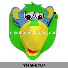 EVA orangutan Animal party hat Cartoon Cap for children performance, party and birthday, Halloween