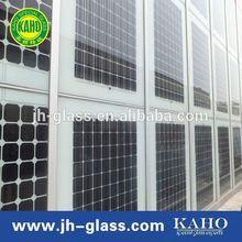 energy saving solar glass, low iron glass, utral white solar glass