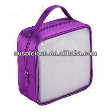 Luxury &elegant PVC hand bag transparent PVC tote bag with handle