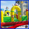 Excellent quality inflatable fire truck bouncer with good design