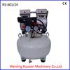 AC power silent vertical tank dental air compressor