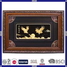 OEM logo beautiful design 24k gold foil gold foil picture