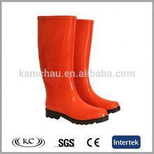 italya şık kırmızı moda İtalyan kışlık botlar kadın