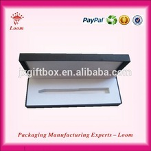 Nanchang Longmen Luxury recycling eco deluxe plastic pen box in packaging boxes Manufacturer