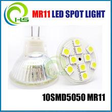 cob led mr11 GLASS 10SMD 5050 LED MR11 IP44 MINI SPOT LIGHT led glass brick