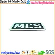 custom metal adhesive kinds of nameplate furniture decoration