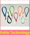 Doble- cara magnética cable de datos/varios colores micro usb cable, plana por cable usb, de fideos usb cable de fábrica de shenzhen