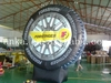 Gaint commercial inflatable tire model(giant, nylon&rubber, )for advertising