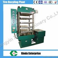 XLB-500 rubber brick molding machine vulcanizing machine rubber tile making machine