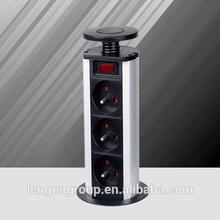 female plug socket solar charger with ac wall socket 12v usb socket