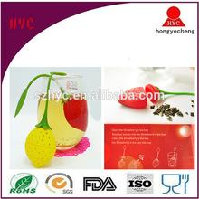 Wholesale BPA Free Cute Fantastic Strawberry Tea Sifter