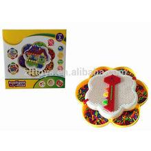 diy puzzle gioco in filo chiodo di plastica del giocattolo educativo
