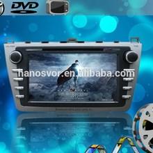 HANOSVOR Car DVD Radio for MAZDA 6 GPS navigation system