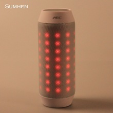 Music pulsing LED dazzle colour BQ - 615 Bluetooth speaker.mini wireless speaker innovation