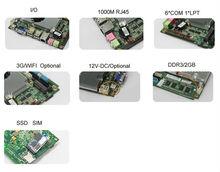 High Performance 3D Graphics Mother Board Mini Itx Motherboard VGA, 8*USB 2.0/1.0