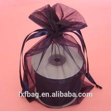 drawstring mesh bag /custom organza bag for gift