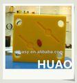 Amarillo de plástico uhmwpe hoja de cono para defensa frente panel de uhmwpe marinos junta,