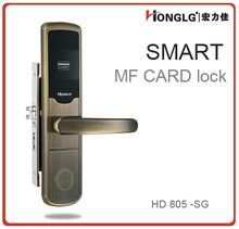 2012 card key door handles and locks factory/manufacturer--hotel smart lock wholesale/distribute/agent needed