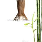 Filter -shaped Bamboo handmade hanging lamps