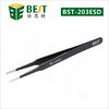 Hihg quality vetus stainless steel ESD tweezer, ESD-7A bending tweezers for mobile laptop computer repair tools