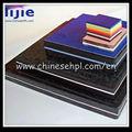 Compact hpl conseil 1300x2800mm/haute pression feuilles de stratifié hpl/lijie compact stratifié hpl