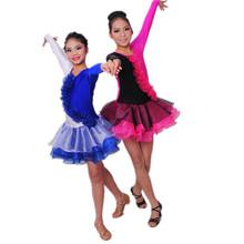 b000022 2014 mode sexy costumes de bal robe de danse latine
