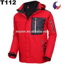 High quality fancy heavy winter wind stop wind proof jacket T112
