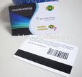 Carte de crédit taille CR80 personnalisé magnétique serrures de cartes clés